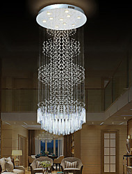 cheap -Crystal Chandelier Crystal Ceiling Light Modern Luxury for Staircase Stair Lights Luxury Hotel Villa Vanity Bedroom Hanging Lamp Ceiling Pendant Lights