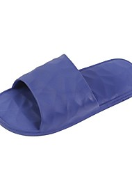 cheap -Women's Sandals Flat Heel Round Toe PU Color Block Black Yellow Pink