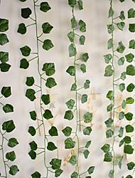 cheap -Artificial Plants Fabric Rustic Vine Wall Flower Vine 12pcs
