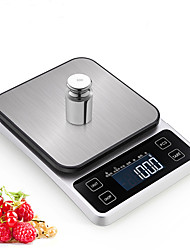 cheap -0.5g-5000g Auto Off LCD Display Multi - mode Electronic Kitchen Scale Kitchen daily