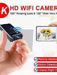 cheap -jozuze 4k mini camera wifi smart wireless camcorder ip hotspot hd night vision video micro small cam motion detection