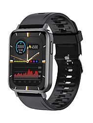 cheap -T10Pro Smartwatch for Android iOS Bluetooth 1.65 inch Screen Size IP68 Waterproof Level Waterproof Heart Rate Monitor Sports Smart Games ECG+PPG Pedometer Sleep Tracker Sedentary Reminder Find My