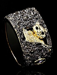 cheap -Ring AAA Cubic Zirconia Two Stone Black Brass Cat Stylish Gothic Vintage 1pc 6 7 8 9 10 / Women's