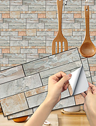 cheap -Imitation Stone Tile Kitchen Bathroom Self-adhesive Paper Waterproof And Oil-proof Lihuang Slate Sheet Self-adhesive Decorative Wall Stickers