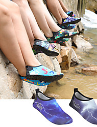 cheap -Women's Men's Water Shoes Printing Fabric Anti-Slip Quick Dry Swimming Diving Surfing Snorkeling Scuba Kayaking - for Adults