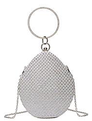 cheap -Women's Bags Top Handle Bag Glitter Shine Party Date Evening Bag 2021 Handbags Black Gold Silver