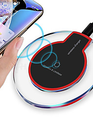 cheap -Qi Mini Wireless Fast Charging Desktop Portable Mobile Phone Charger USB Wireless Charging Pad for Samsung S21 S20 S10 A Series Oneplus 9 8 7 Xiaomi Huawei LG Google
