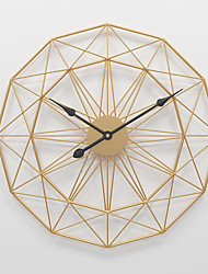 cheap -Silent Wall Clock Home Decoration Wall Clocks for Bedrooms Living Room Non Ticking Battery Operated Modern Home Decor Wall Clock Simplicity Creative Wall Clocks for Kitchen Golden Black 20'x20' 24'x24'