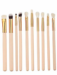 cheap -12 in 1 fiber makeup brush set tools eye brush make-up toiletry kit cosmetic brush (color : gold)