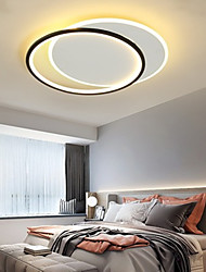 cheap -LED Ceiling Light Round 47/56 cm Geometric Shapes Flush Mount Lights Aluminum Artistic Style Modern Style Stylish Painted Finishes Artistic 110-120V 220-240V