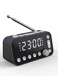 cheap -DAB-A1 FM Radio Digital Alarm Clock 12/24H DST Snooze Function Dual Alarms 2 USB Chargers Adjustable Brightness Dimmer for Bedroom Kids Heavy Sleepers DC Powered