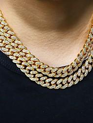 cheap -Women's Men's Long Necklace Cuban Link Flower Alloy 50 cm Necklace Jewelry 1pc For Festival