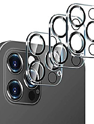 cheap -3 Pack Phone Camera Lens Protector Compatible with iPhone 12Pormax iPhone 11 Tempered Glass Camera Protector Case Friendly Back Lens Rear Camera Protective Film For iPhone 12 mini iPhone 11promax