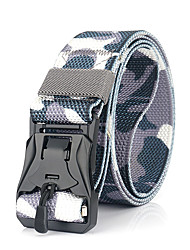 cheap -Belt Men's Military Tactical Belt Wearable Breathable Quick Release for Camo Nylon Fall Spring Summer