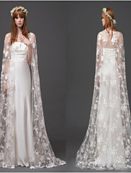 cheap -Sleeveless Elegant / Bridal Lace Wedding / Wedding Party Women's Wrap With Appliques