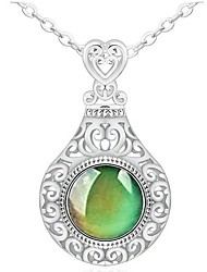 cheap -Women's Pendant Necklace Hope Vintage Alloy Picture color 45 cm Necklace Jewelry 1pc For Gift Festival