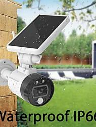 cheap -OUERTECH 1080P Outdoor Solar WIFI Camera Charging Battery Wireless Security Camera IP66 PIR Motion Detection Bullet Surveillance