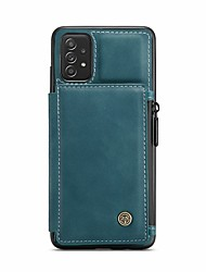 cheap -CaseMe frosted touch with card slot added RFID anti-theft brush function leather Samsung A series