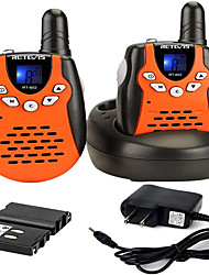 cheap -Rechargeable Walkie Talkies with Charging Cable,22 Channel VOX Walkie Talkies for Kids,3-12 Years Old Toys for Outdoor Adventures,Camping(Orange 2PCS)