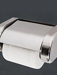 cheap -Toilet Paper Holder New Design Stainless Steel Paper Roll Holders Wall Mounted Silvery 1PC