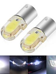 cheap -10X BA9S LED Car Led CANBUS T4W H6W LED COB 2LED Side Wedge Light Interior Signal Lamp License Plate Light Dome Light 12V White