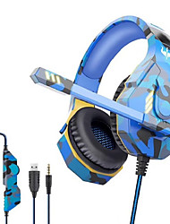 cheap -OVLENG GT95 Gaming Headset USB 3.5mm Audio Jack PS4 PS5 XBOX Ergonomic Design Retractable Stereo for Apple Samsung Huawei Xiaomi MI  PC Computer Gaming