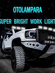 cheap -OTOLAMPARA 2021 New Arrival 72W-432W Optional Super Bright LED Work Light Bar IP67 Waterproof Use for JEEP ATV UTV SUV 4X4 4WD 6000K White 50000hrs Lifespan COB LED Work Light 1pcs