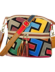 cheap -new leather trendy handbags handbags hand-stitched letters contrast color leather color shell small bags shoulder handbags