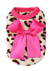 cheap -Dog Cat Jumpsuit Pajamas Print Casual / Sporty Cute Casual / Daily Dog Clothes Puppy Clothes Dog Outfits Breathable Leopard Costume for Girl and Boy Dog Cotton XS S M L XL