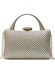 cheap -Women's Bags Top Handle Bag Glitter Shine Party Beach Evening Bag Handbags Black Gold Silver