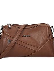 cheap -Women's Bags Crossbody Bag Date Office & Career 2021 MessengerBag Black Purple Green Brown