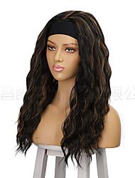 cheap -wig  long curly hair wig lady wigs big wave hair band chemical fiber wig headgear