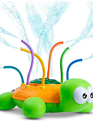 cheap -Outdoor Water Spray Sprinkler for Kids and Toddlers - Backyard Spinning Turtle Sprinkler Toy Wiggle Tubes - Splashing Fun for Summer Days - Sprays Up to 8ft High - Attaches to Garden Hose