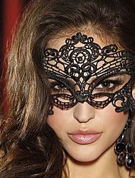 cheap -Goddess / Sexy Lady Halloween Props Adults' Halloween / Christmas Women's White / Black / Red Lace / Tactel Cosplay Accessories Masquerade Costumes / Eye Mask