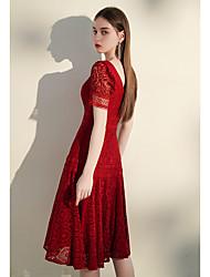 economico -brindisi abito sposa 2020 nuovo vino rosso di solito può indossare abito da sposa abito da fidanzamento piccola persona è magra