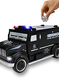 cheap -Piggy Bank / Money Bank Armored Car 1 pcs Gift Electronic Password Plastic For Kid's Adults' Boys and Girls