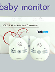 cheap -v20/v30 portable baby sitter 2.4ghz baby monitor audio digital voice broadcast double talk night light