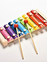 cheap -Baby Music Instrument Toy Wooden Xylophone Children Kids Musical Funny Toys For Baby Girls Educational Toys Gifts Baby Xylophone
