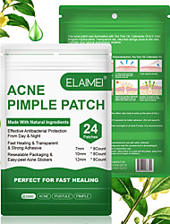 cheap -5 Packs Automatically Burst Fall Off Zero Injury Save Time And Effort ELAIMEI Acne Patches Hydrocolloid Acne Patches Oil Control Patches