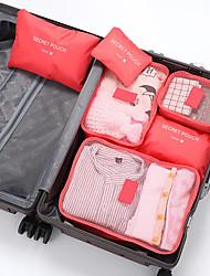 cheap -Travel Storage Bag Six-Piece Suit Business Shoes Clothing Suit Shoes Underwear Multi-Piece Simple Storage Bag