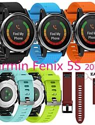 cheap -1 PCS Watch Band for Garmin Sport Band Silicone Wrist Strap for Approach S60 Fenix 5 Fenix 5 Plus Garmin Quatix 5 Forerunner 935