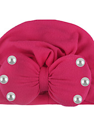 cheap -ins europe and the united states new children's hood, autumn and winter warm baby sticky bead bow indian hat, baby hat