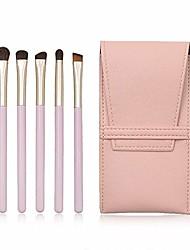 cheap -makeup brush make up eye brush set 5 pcs eyeshadow brush set eyeliner blending brush makeup brushes for daily use brush sets (color : pink, size : 10x17x2cm)