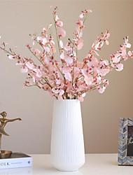 cheap -Autumn Dancing Orchid Simulation Flower High Quality Fake Flower Living Room Flower Arrangement 1 Piece