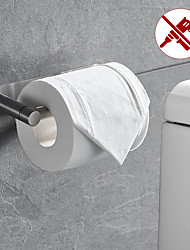 cheap -Rotatable/Foldable Toilet Paper Holder Self-adhesive Roll Paper Holder 304 Stainless Steel Paper Towel Holder Brushed