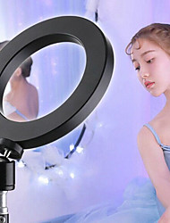 """cheap -10"""" LED Ring Light Dimmable LED 3 Color Lighting Modes for Photography Tiktok Youtube Video Makeup Live Streaming"""