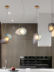 cheap -LED Pendant Light Bedside Lamp 42 cm Single Design Glass LED Nordic Style 110-240 V