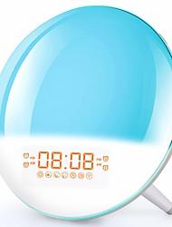 cheap -led Clock Radios FM Radio / Sleep Aid / AM Radio / USB Charger Ports AA Batteries Powered
