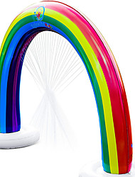 cheap -Outdoor Rainbow Sprinkler Super Toddler Water Toys for Children Infants Boys Girls and Kids Perfect Outside Inflatable Water Park for Summer Fun