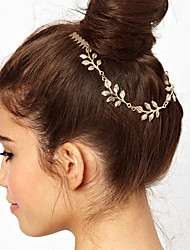 cheap -Modern Style Elegant Alloy Headpiece with Metal 1 PC Special Occasion / Party / Evening Headpiece